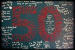 Blackboard Guestbook