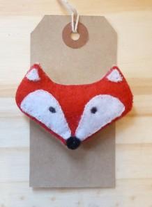 Red Felt Fox £8