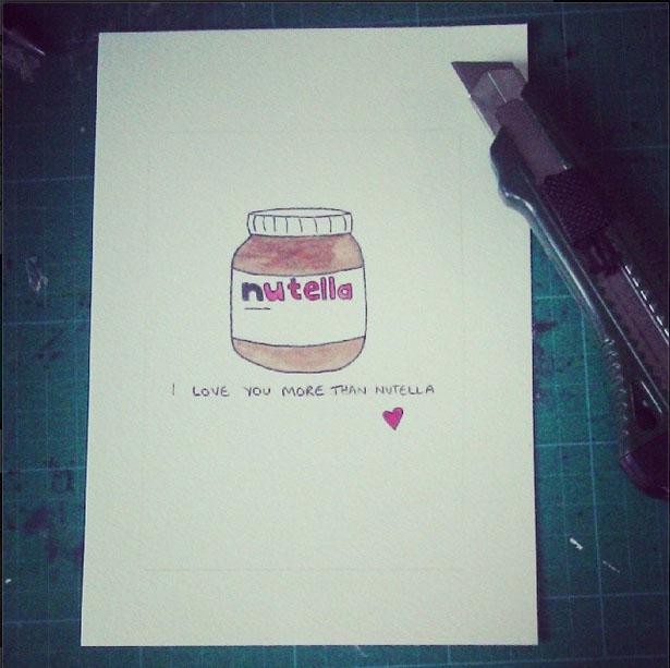 Ekkk last minute Valentines crafting