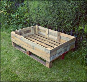 Raised Bed Outside