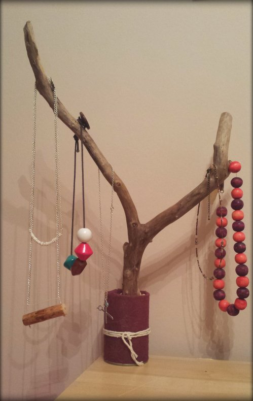 branch jewellery stand