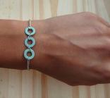 Upcycled Washer Bracelet